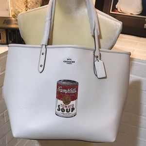 NWT Coach Limited Edition Campbell's Soup Tote